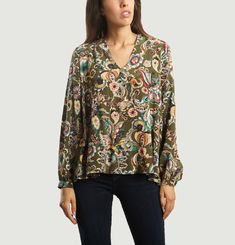 Ambra Silk Blouse