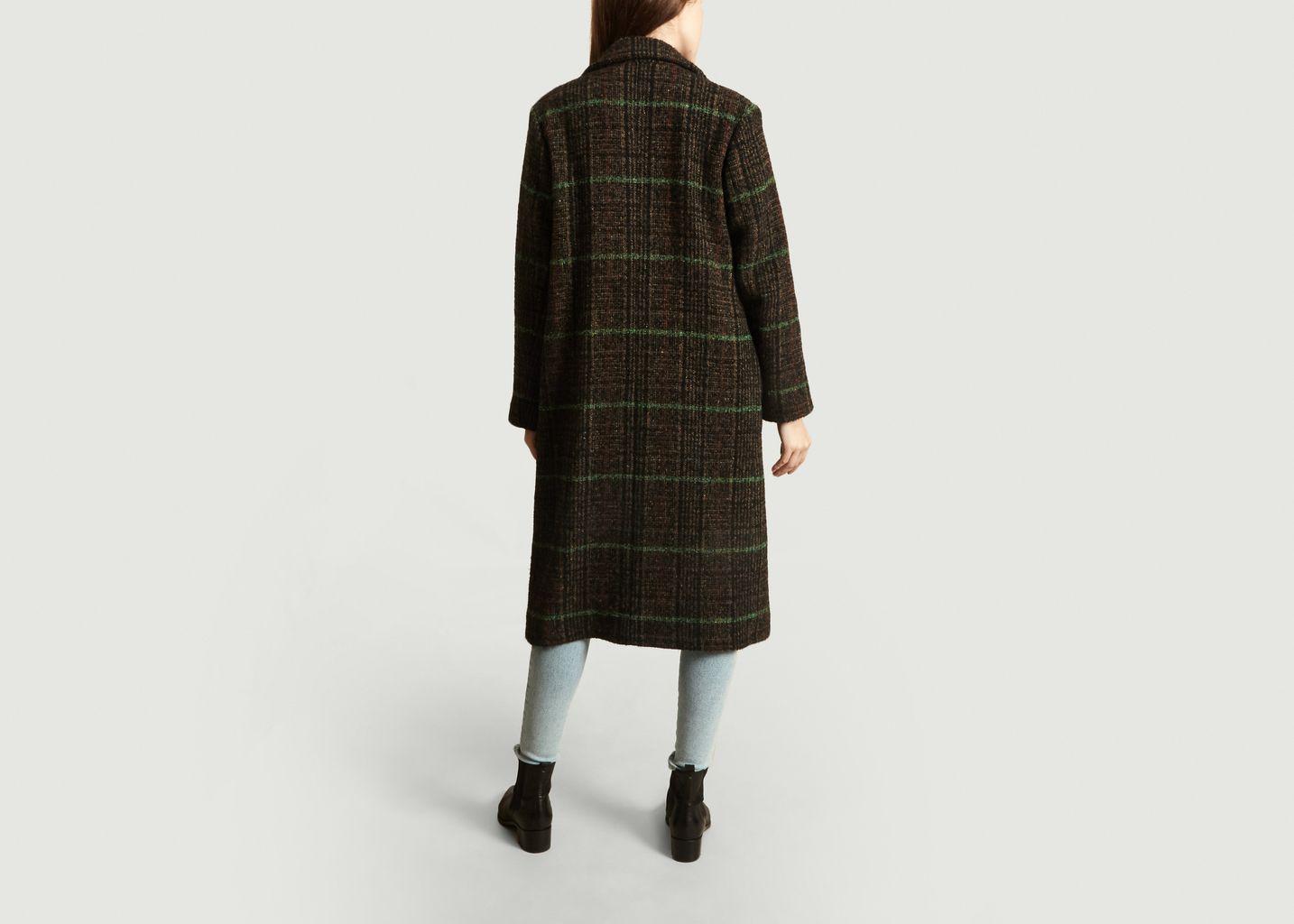 Manteau Opale en laine - Momoni