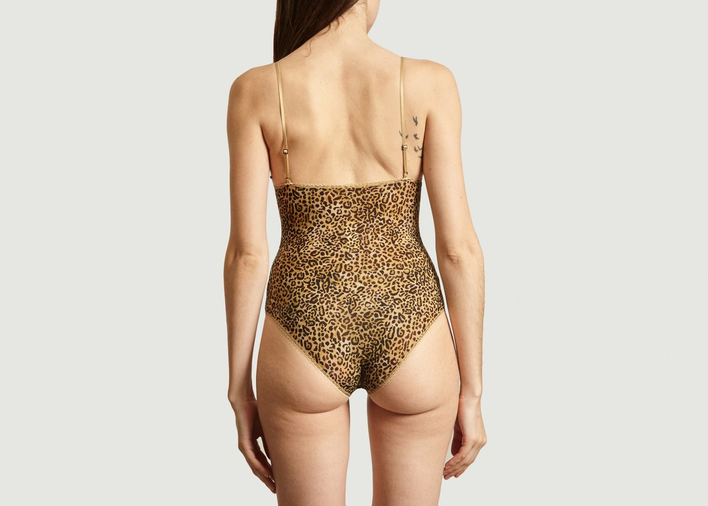Body Tore à imprimé léopard - Momoni
