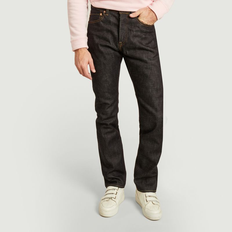 Jean 0605 15.7 oz Natural Tapered - Momotaro Jeans