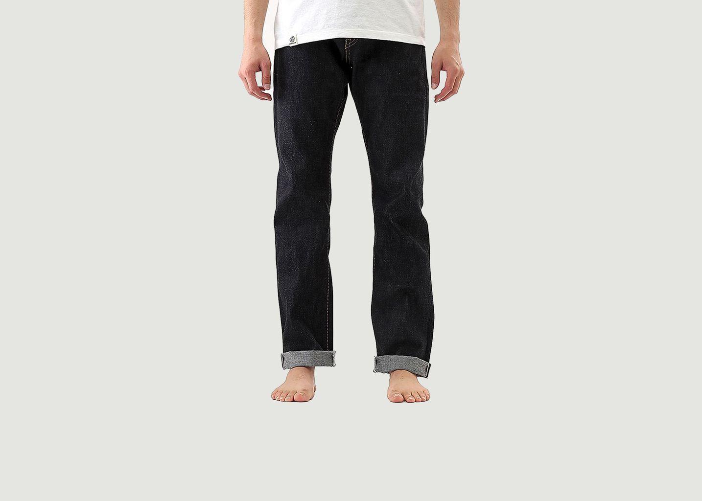 Jean 0605 12oz Natural Tapered - Momotaro Jeans