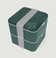 La boîte Bento carré graphic Jungle