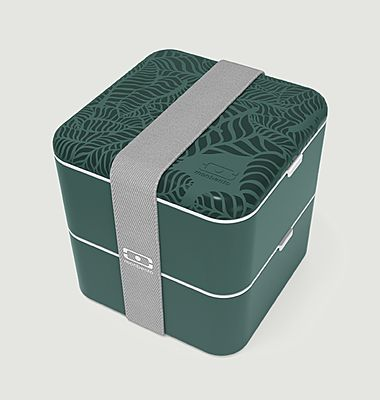 Jungle square bento box