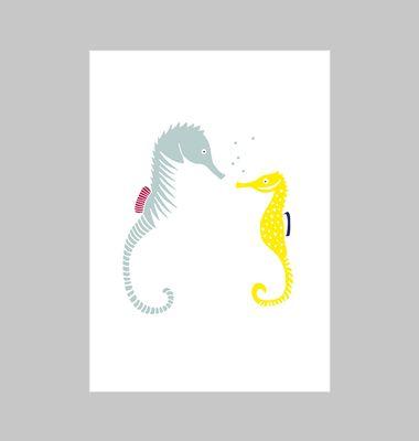 Affiche Hippocampes