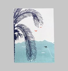Palm Grove Small Notebook