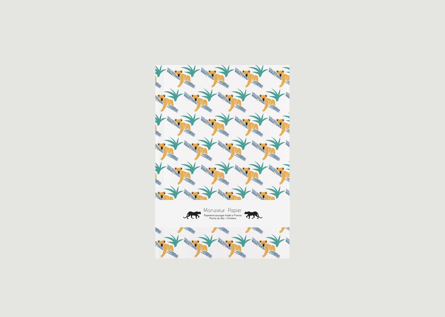 Cahier Koala - Monsieur Papier