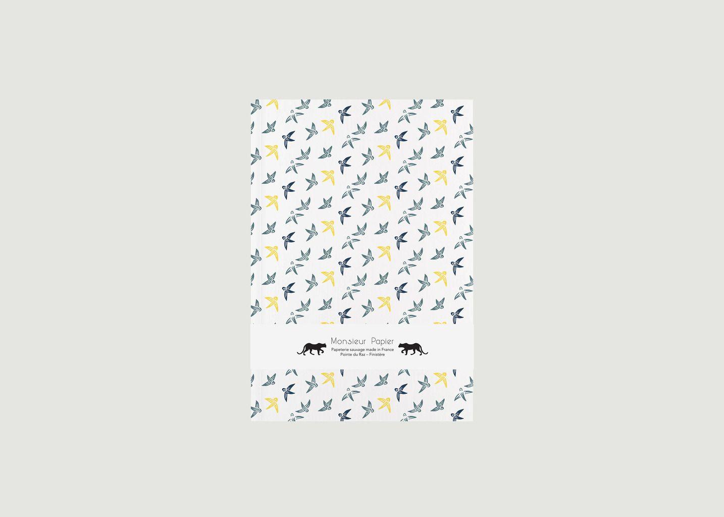 Petit Carnet Printemps A5 Ligné - Monsieur Papier