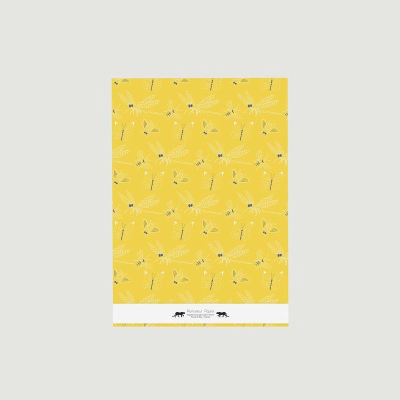 Large Carnet Libellules A3 - Monsieur Papier