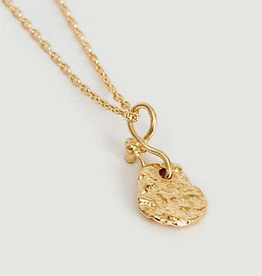 Collier chaîne avec pendentif en vermeil jaune Ina