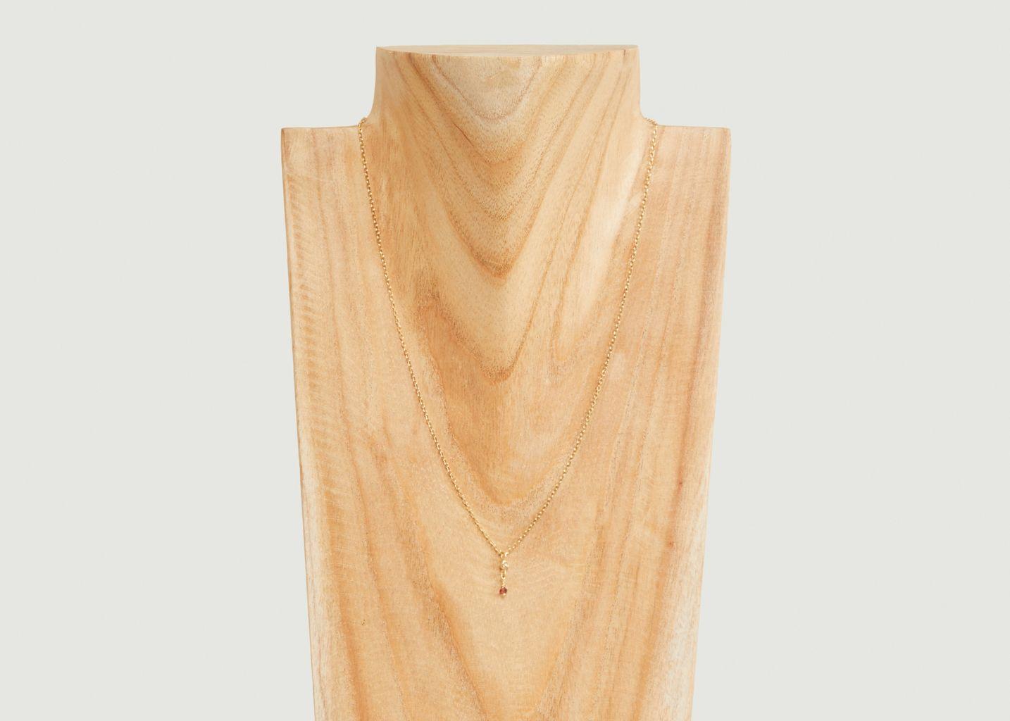 Collier chaîne avec pendentif Tia - Monsieur