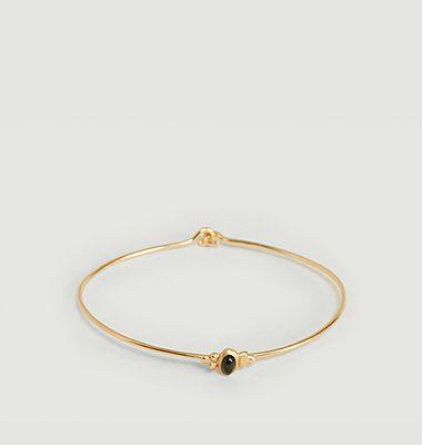 Bracelet Lila tourmaline verte