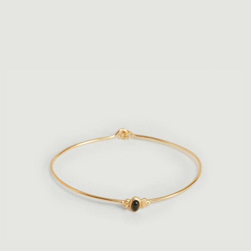 Bracelet Lila tourmaline verte - Monsieur