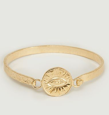 Joseph yellow vermeil eye pattern bracelet