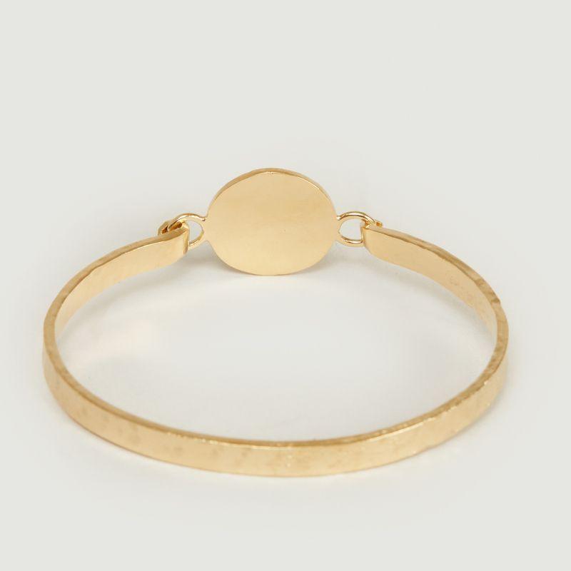 Bracelet en vermeil jaune motif œil Joseph - Monsieur