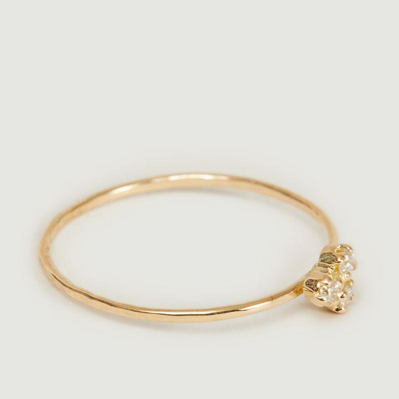 Bague or et diamants Olympe - Monsieur