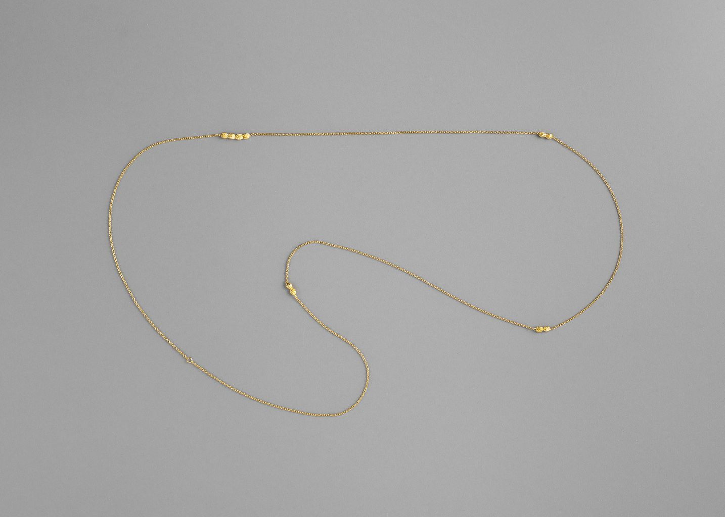 Papaya Long Necklace Vermeil - Monsieur