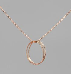 Olympe Pink Gold Necklage