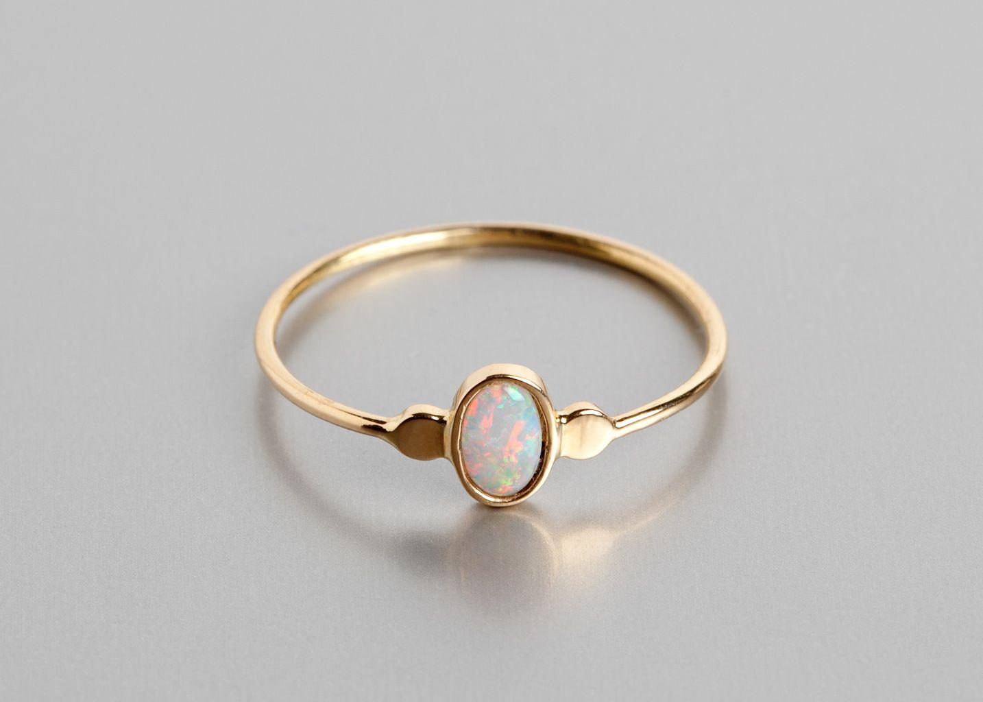 Bague marque opale