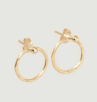 Boucles D'Oreilles En Or Et Diamant Henrietta