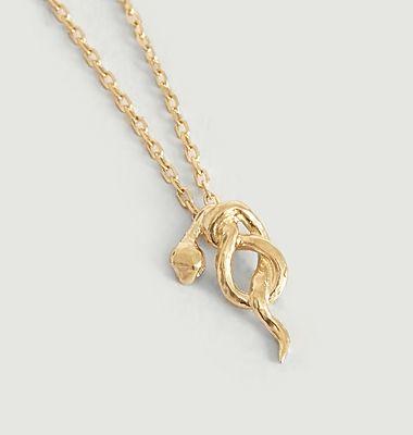 Collier chaîne avec pendentif serpent Illy