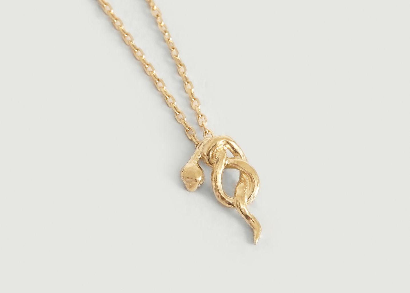 Collier chaîne avec pendentif serpent Illy  - Monsieur