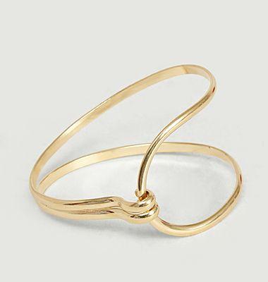 Bracelet en vermeil jaune Yvette