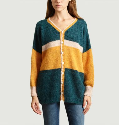 Pull Ample Sakine Mohair