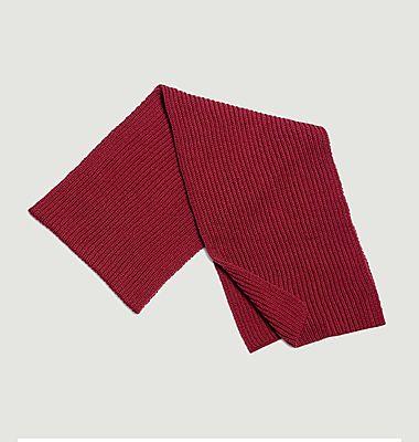 Echarpe en laine mérinos Chanterelle