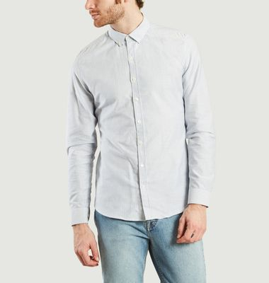 Chemise ML Oxford Centre-Bourg à Rayures