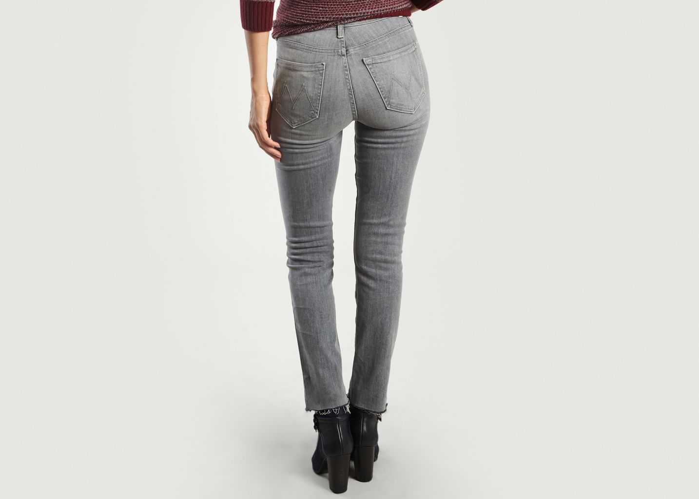 2b23d42c11702 Jean The Rascal Ankle Snippet Gris Mother