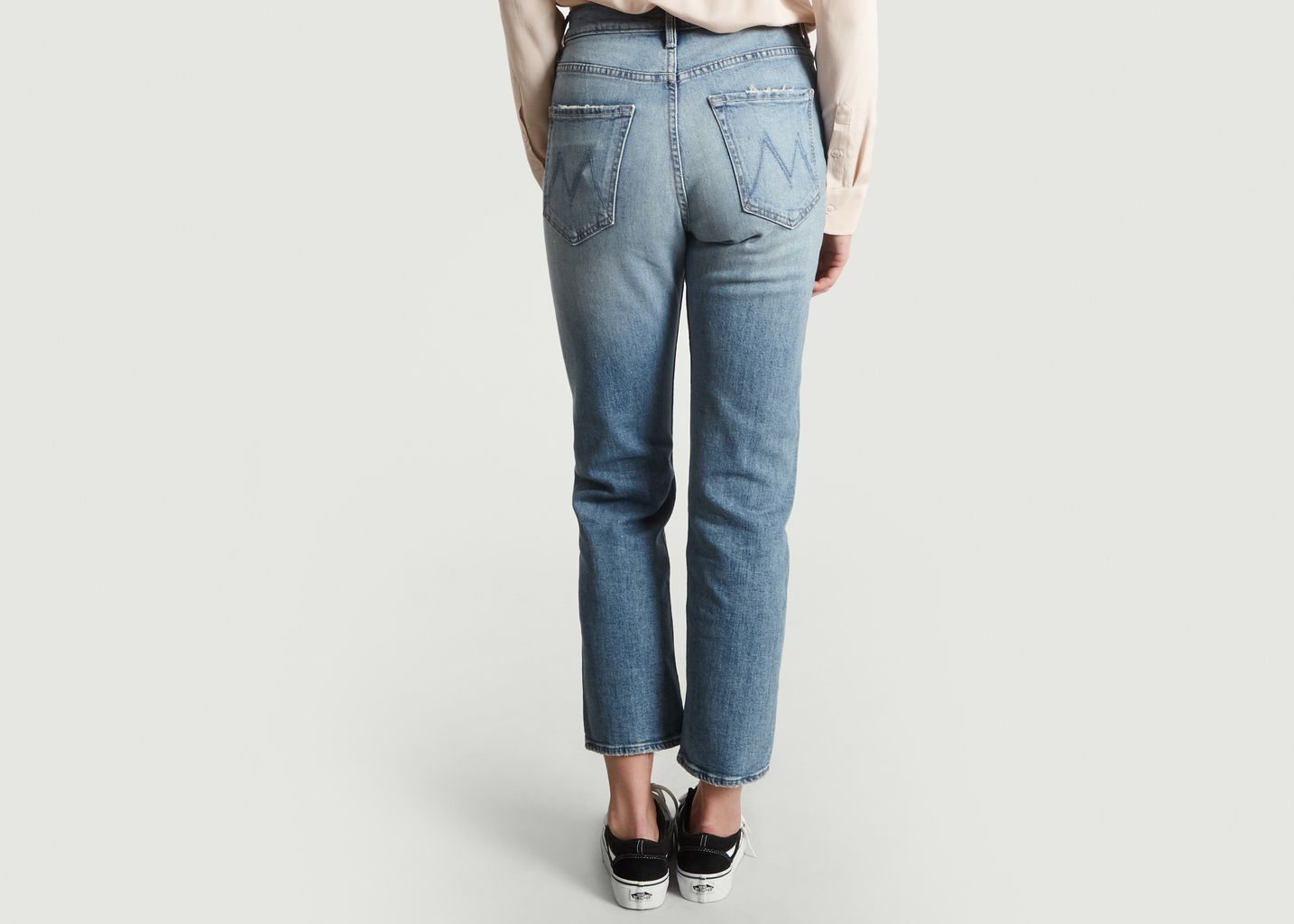 Jean Tomcat Cropped - Mother