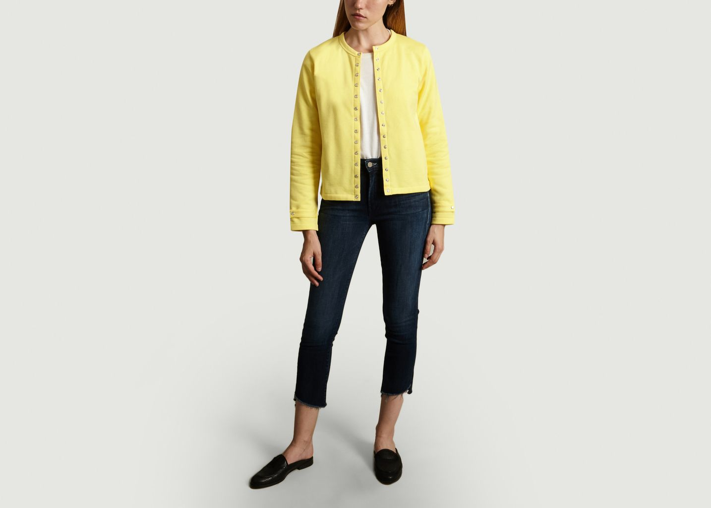 Jeans Rascal Ankle Step Fray - Mother