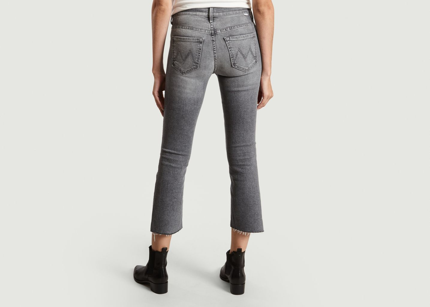 Jeans Insider Crop Step Fray - Mother