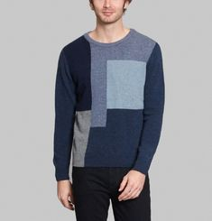 Pull K8 Patchwork Intarsia