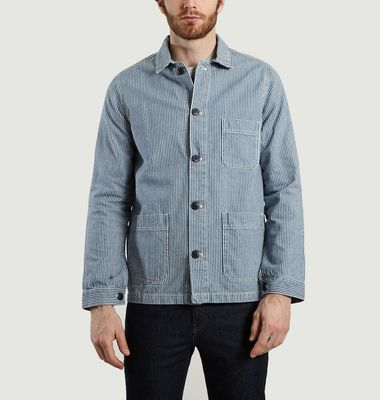 Veste Denim Rayé