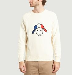 Pull Broderie Mouton