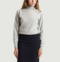 Pull Maille Chevrons Susanne