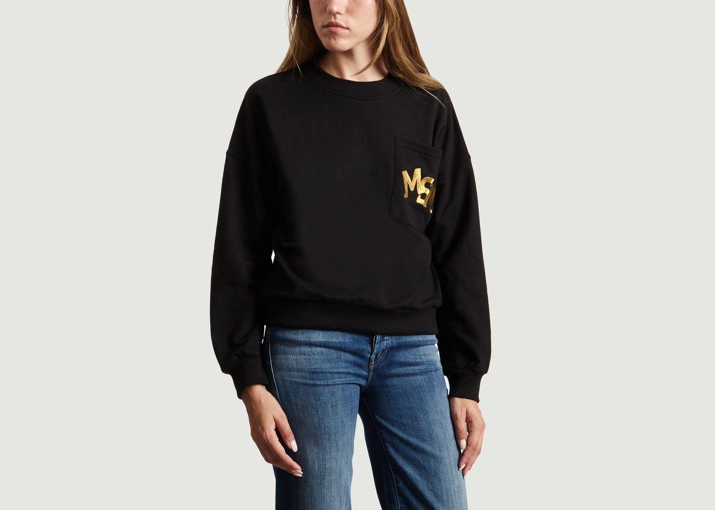 Sweatshirt Logo Brodé  - Le Mont St Michel