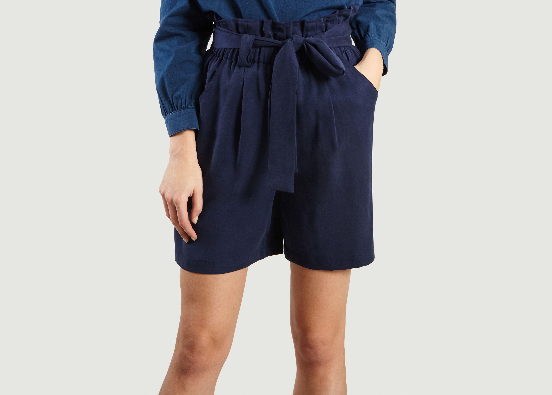 df6c8a0c6c1594 Short Paula Bleu Marine Le Mont St Michel | L'Exception