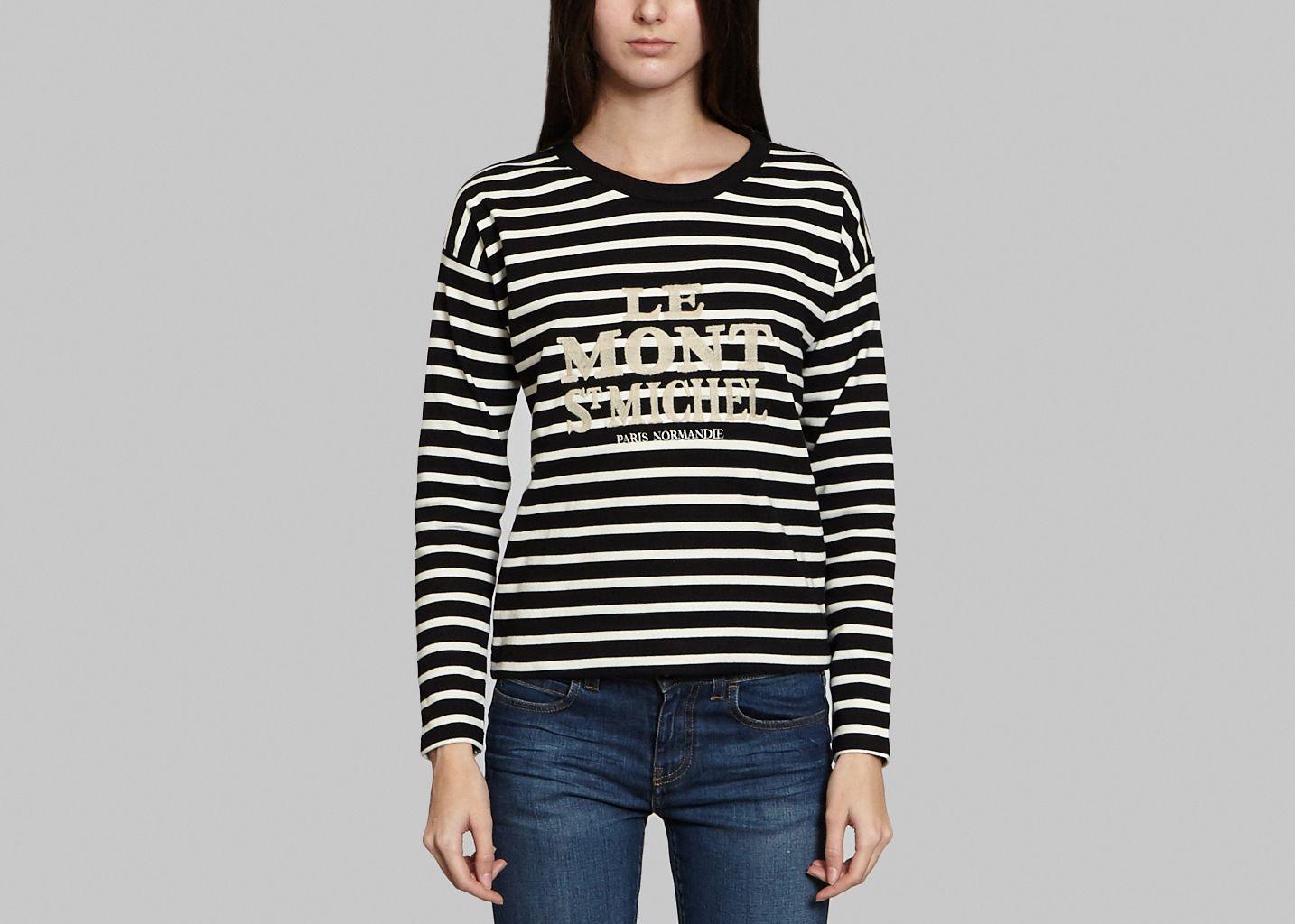 Tshirt Boxy - Le Mont St Michel