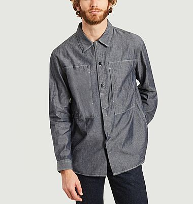 Work Cid denim overshirt