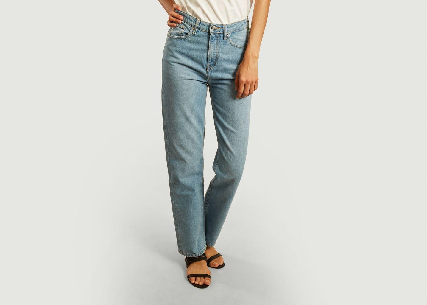 Jean délavé Relax Rose - Mud Jeans