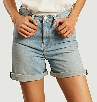Short en jean délavé Beverly