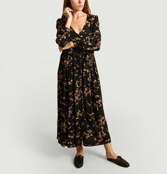 Robe Longue Maggie Imprimé Cerisier