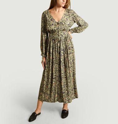 Robe longue Maggie Imprimé Wonderland