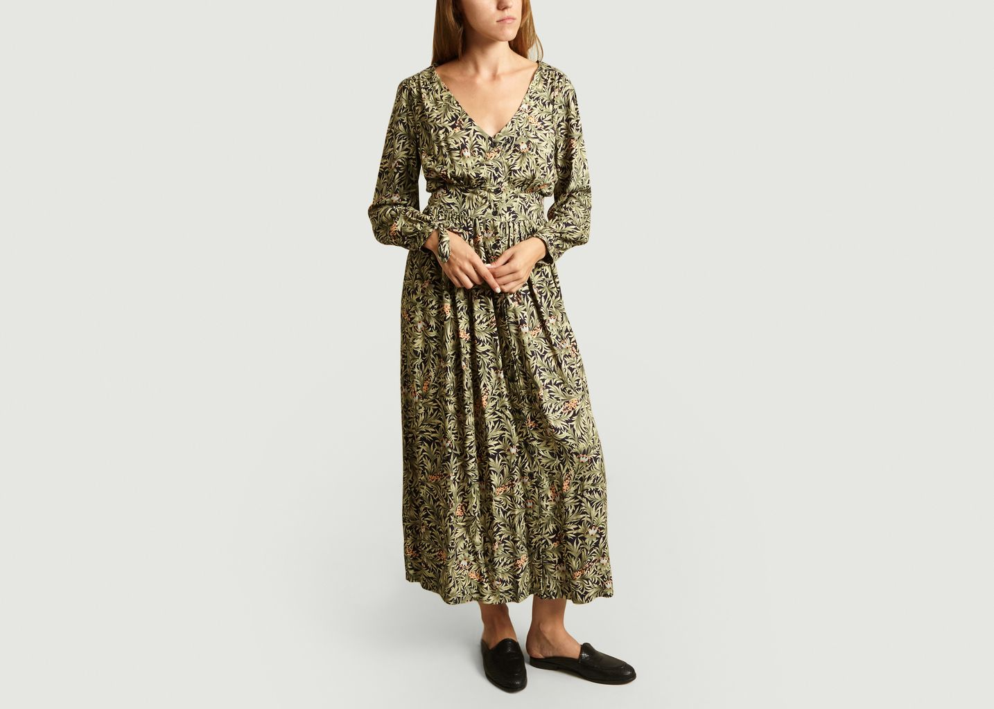 Robe longue Maggie Imprimé Wonderland - My Sunday Morning