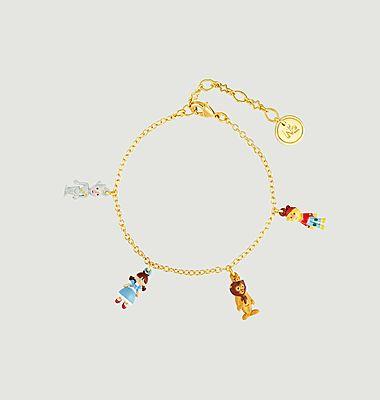 Bracelet charms Le Magicien d'Oz