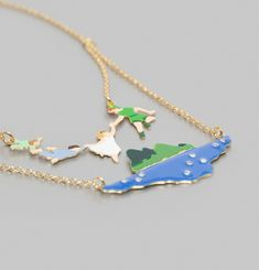 Peter Pan and the Darling Children Necklace