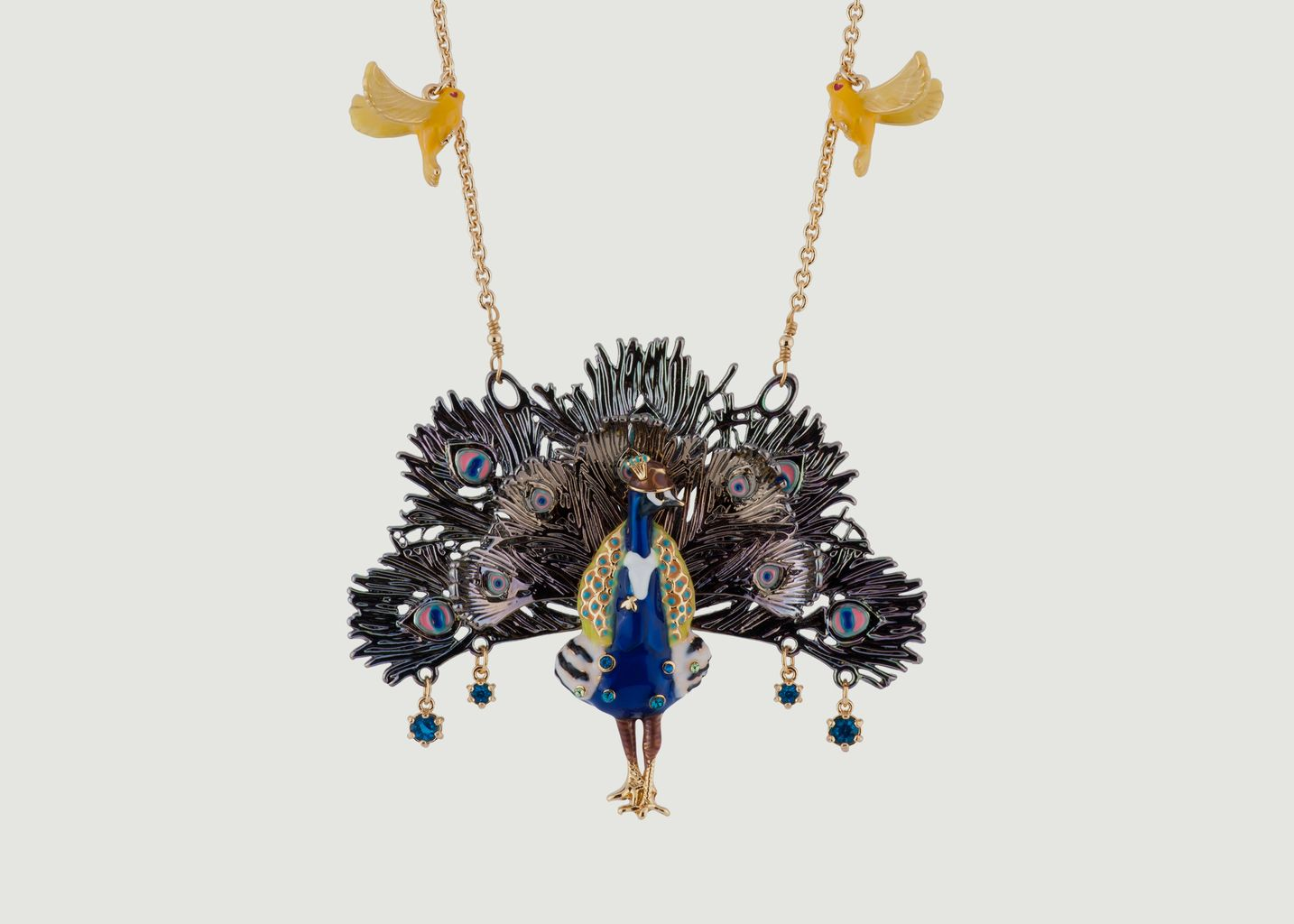 Nicely Happy Peacock Necklace - N2