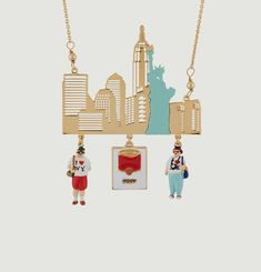 NYC Skyline Necklace